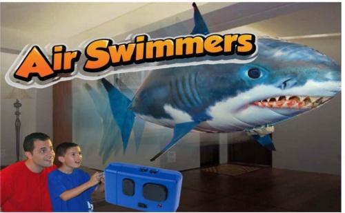 Air Swimmer - риба, която плува във въздуха