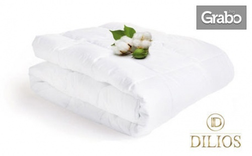 Единична или Двойна Олекотена Зимна Завивка pure Cotton от 100% Памук Перкал