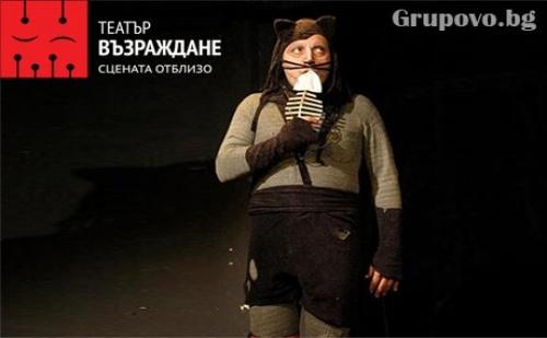 Котаракът с чизми на 26.11, неделя, от 12:30 часа в театър Възраждане