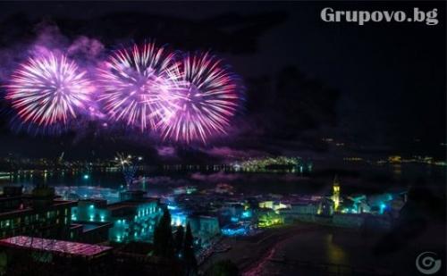 Нова Година в Будва, Черна Гора! Транспорт, 4 Нощувки, 4 Закуски и 3 Вечери от Караджъ Турс