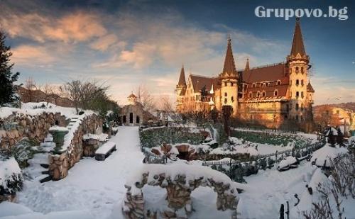 Уикенд среща с Дядо Коледа в замъка Влюбен във вятъра, Равадиново. Разходка в комплекса за до 4-членно семейство, подарък от Дядо Коледа за децата + 10 снимки от събитието  ...
