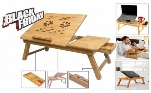 Бамбукова Масичка - Поставка за Лаптоп
