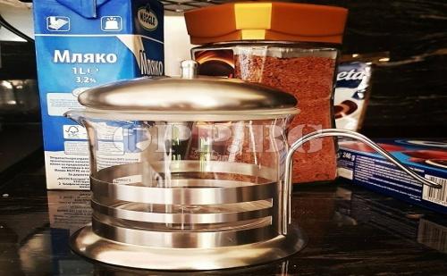 Огнеопорна Каничка за Мляко и Кафе