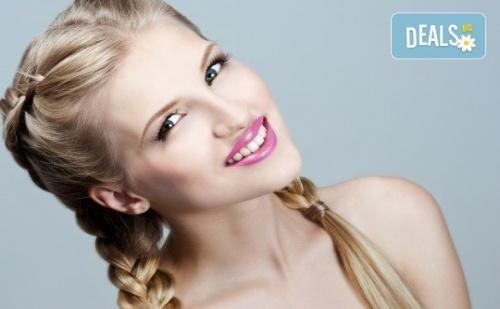 Подстригване, Масажно Измиване, Кератинова или Арганова Терапия по Избор и Оформяне със Сешоар или Плитка в Салон Bella Style!