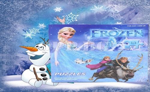 2 Броя Уникални Пъзели Frozen