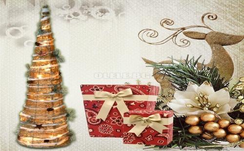Декоративна Коледна Led Елха