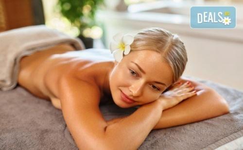 Здраве и Релакс! Дълбокотъканен Имуностимулиращ Масаж на Гръб с Топли Билкови Масла в Massage and Therapy Freerun!