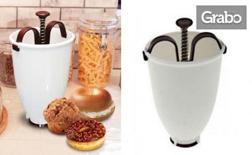 Уред за домашно приготвени понички Donut Maker, плюс бонус - рецепта