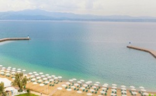 Ultra All Inclusive в PalmaRiva Beach 4*+ в Гърция – Евия