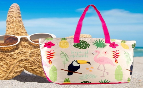 Плажна Чанта Фламинго