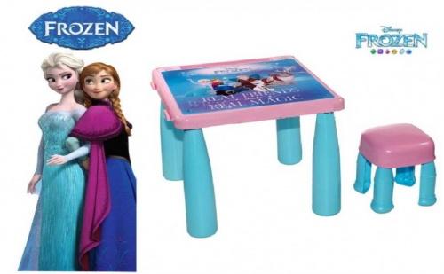 Комплект Маса със Столче Замръзналото Кралство