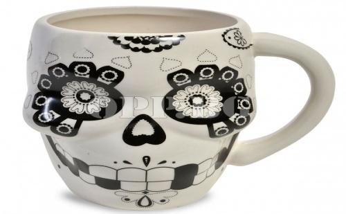 Керамична Чаша Череп