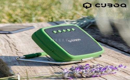 Преносим Високоговорител с Bluetooth Cuboq Solar Power