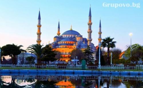 3-Ти Март в Истанбул! Транспорт, 3 Нощувки със Закуски + Посещение на Мол Ераста и Църквата Свети Стефан от Дениз Травел