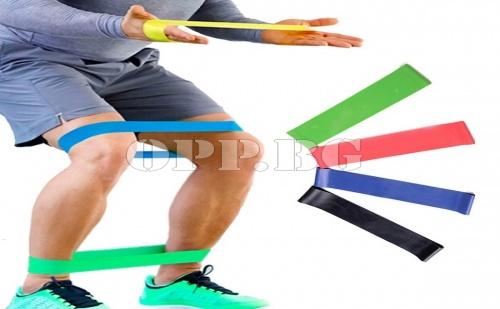 Спортен Ластик за Йога и Упражнения