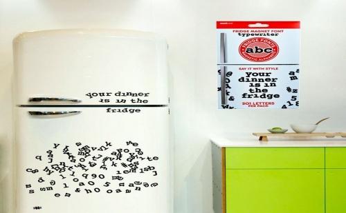 "Магнити за Хладилник ""Букви"""