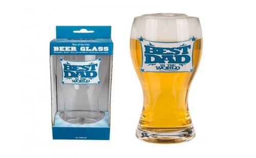 """Чаша за Бира """"Най-Добрият Татко"""""""