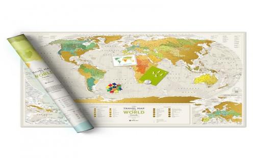 Световна Скреч Карта география