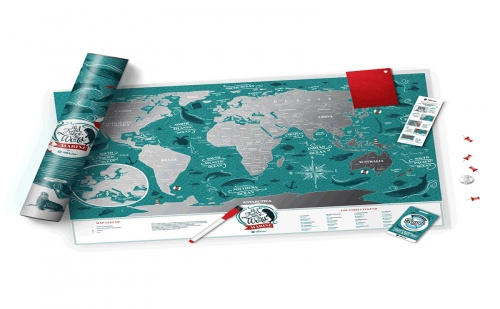 Световна, Скреч Карта океани