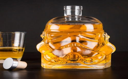 Стъклена Бутилка за Алкохол – Stormtrooper