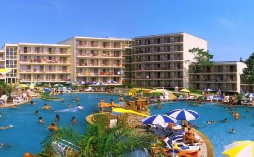Лято в  Хотел Вита Парк *** <em>Албена</em> ! Нощувка на База All Inclusive + Чадър и Шезлонг на Плажа и Басейна+ Безплатен Вход за Аквапарк Аквамания!!!