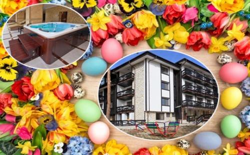 Великден на Брега на Язовир <em>Батак</em>! 2, 3 или 4 Нощувки със Закуски + Великденски Обяд за Двама от Семеен Хотел Спа Хебър