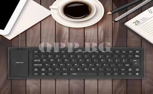 Силиконова Водоустойчива Usb Клавиатура