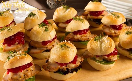 Кетъринг за Вашето Парти! Вкусни Солени Мини Сандвичи от Mystyle Кетъринг