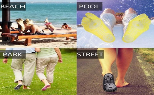 Самозалепващи Стелки за Плажа
