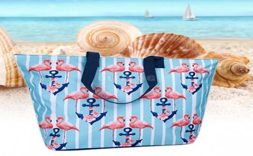 Чанта за Плаж с Котви Фламинго