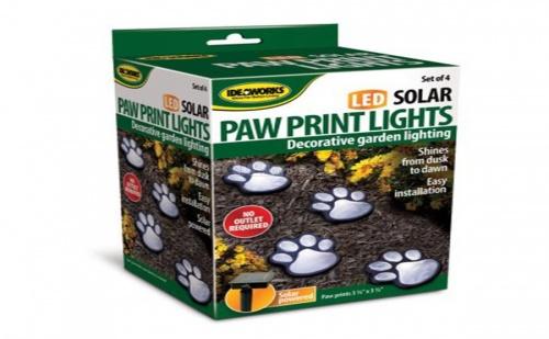 Соларни Лампи Лапички Led Solar Paws