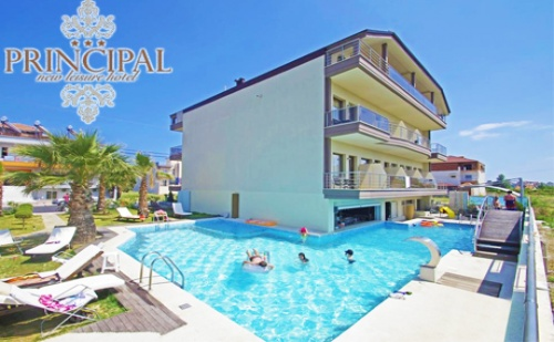 Цяло Лято в <em>Паралия Катерини</em>, Гърция! Нощувка със Закуска в Двойна Стая + Басейн в Хотел Principal
