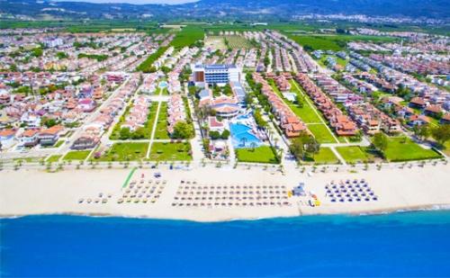 Цяло Лято на 1-Ва Линия в Кушадасъ! 5 Нощувки All Inclusive + Басейн, Спа, Чадър и Шезлонг на Плажа от Хотел Flora Garden Epheus*****