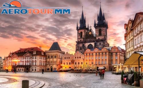 Уикенд в <em>Прага</em> 19 – 21 Октомври! Самолетен Билет, 2 Нощувки със Закуски в Хотел Boutique Hotel Seven Days**** и Богата Туристическа Програма от Аеротур Мм