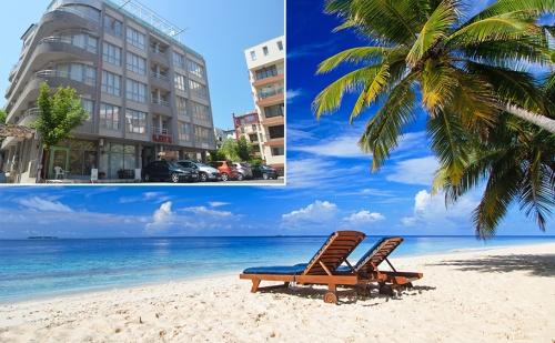Лято в <em>Несебър</em> на 100М от Южния Плаж. Нощувка със Закуска за Двама, Трима или Четирима в Хотел Стела. Дете до 12 Год. Безплатно!
