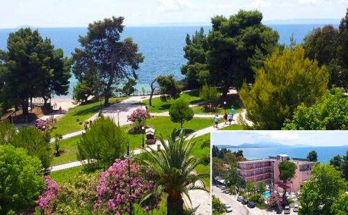 Last Minute! Mоре в Гърция на 30М от Плажа от 31 Май до 8 Юни. Три All Inclusive Нощувки + Басейн, Шезлонг и Чадър в Golden Beach Metamorfosi 3*, <em>Халкидики</em>