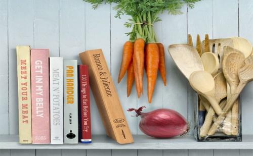 Дървена, Кухненска Дъска за Рязане – Книга
