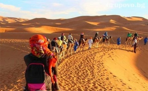 Самолетна Екскурзия до Мароко! Двупосочен Билет, Летищни Такси, 6 Нощувки със Закуски и Вечери + 1 Еднодневна Екскурзия от България Травъл