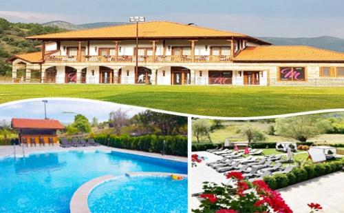 Заповядайте в Новия Mentor Resort до <em>Гоце Делчев</em>. Нощувка, Закуска и Вечеря + Басейн и Джакузи за 36 лв
