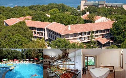 Лято в <em>Златни Пясъци</em> на 150М. от Плажа. All Inclusive + Басейн в Хотел Преслав