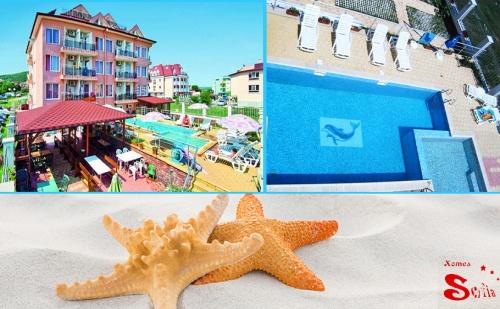 На Море в Обзор на 100М. от Плажа. Нощувка, Закуска и Вечеря + Басейн в Хотел с Вълчеви!