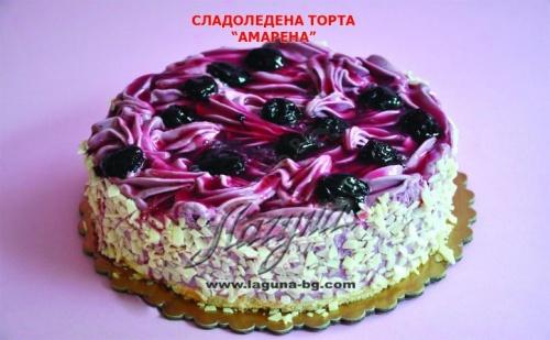 Прохлада в Горещините! Вкусна Сладоледена Торта Амарена, Бишкотино или Рикота от Виенски Салон Лагуна