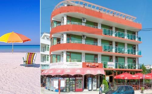 Лято в Приморско. Нощувка, Закуска и Вечеря в Хотел Нортик, в Близост до Два Плажа.