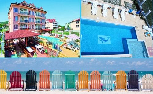 На Море в <em>Обзор</em> на 100М. от Плажа. Нощувка, Закуска и Вечеря + Басейн в Хотел с Вълчеви!