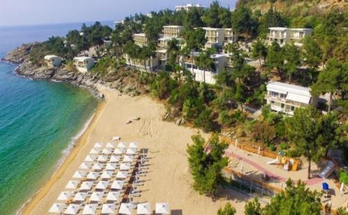 Промоционална Цена за 5 Нощувки на База Ultra All Inclusive в Tosca Beach Hotel 4*, Кавала!