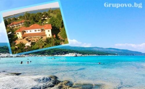Септември на 150 Метра от Плажа в Вурвуру, Гърция - Нощувка в Двойно Студио в Комплекс Filio Sonia!