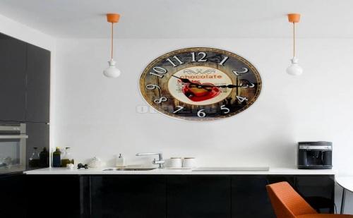 Стенен Декоративен Часовник Chocolate