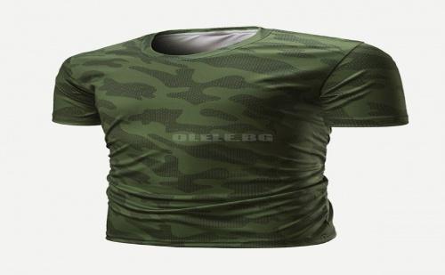 Мъжка Камуфлажна Тениска Men Solider Camo Tee