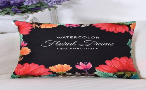 Калъфка за възглавница Flower Print Pillowcase Cover
