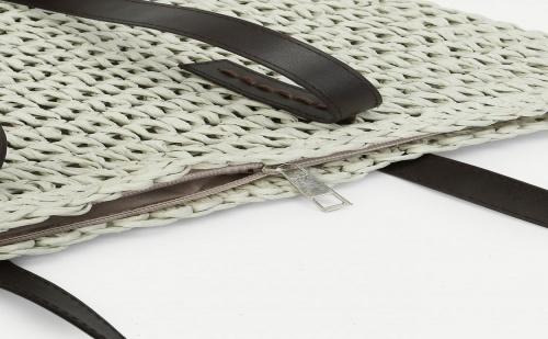 Плетена чанта Woven Bag With Double Handle